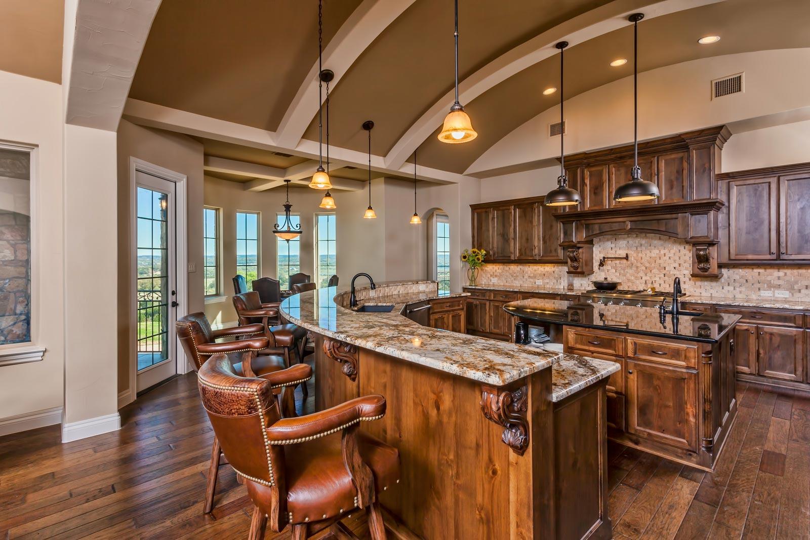 Custom home kitchens custom home builder san antonio for Best custom home builder websites