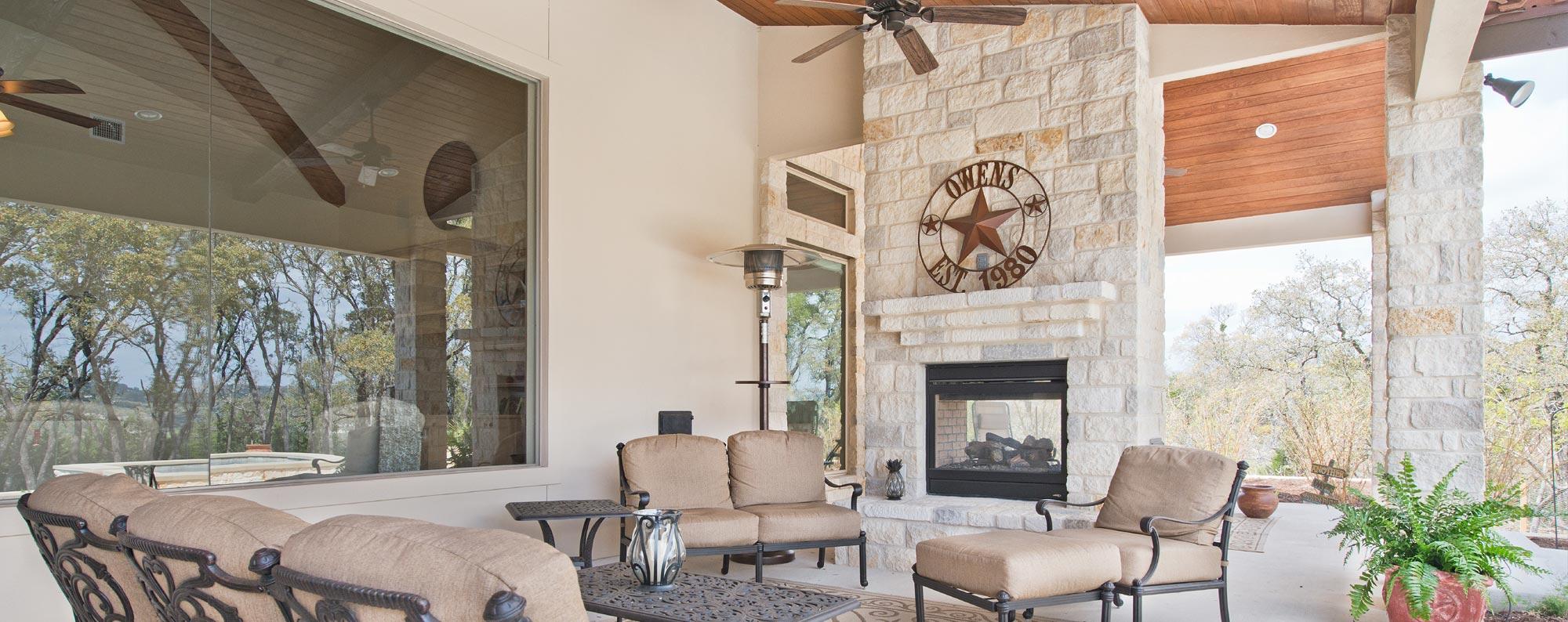 Custom Home Exterior Features