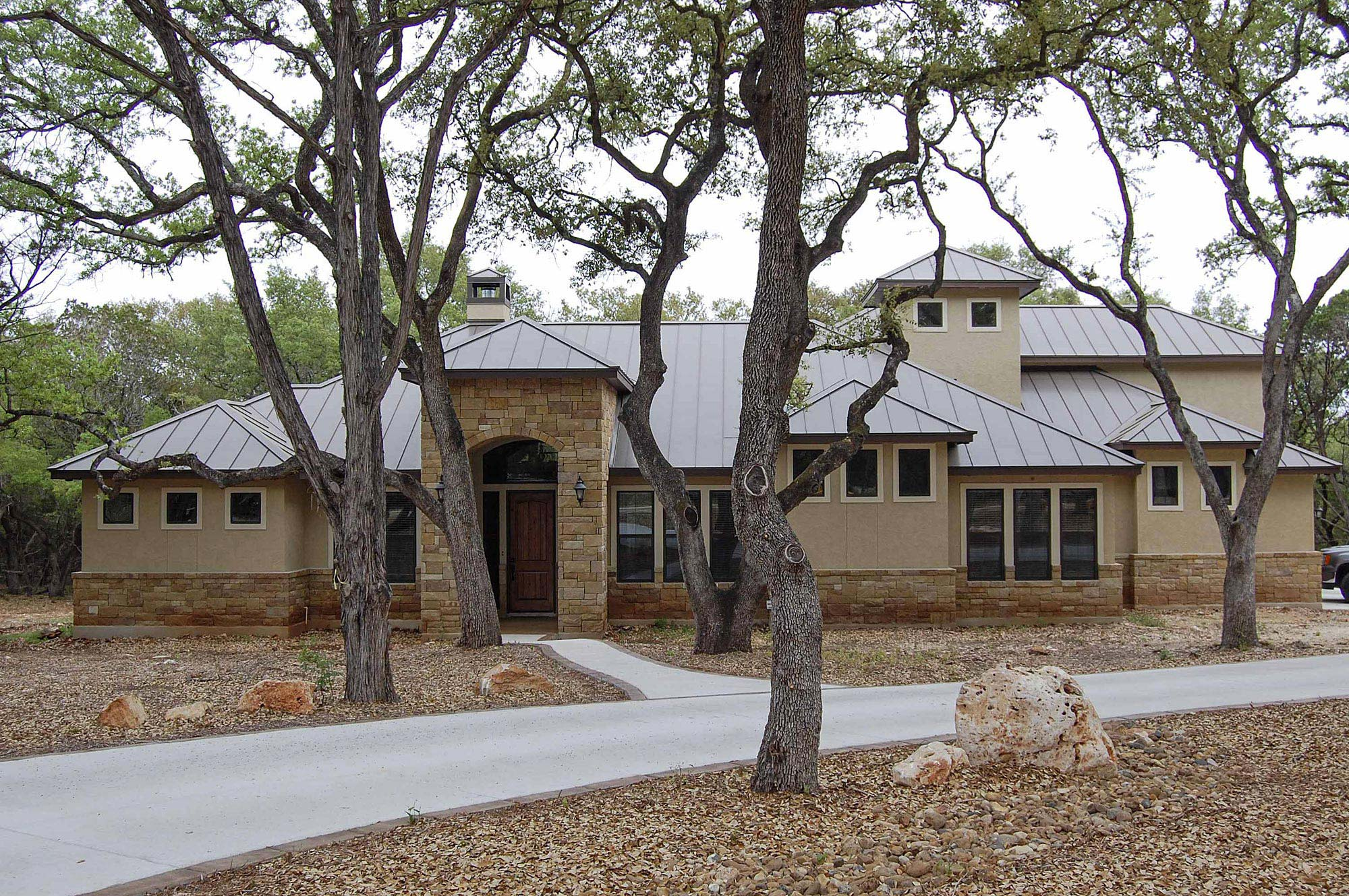 Front Elevations Custom Home Builder San Antonio