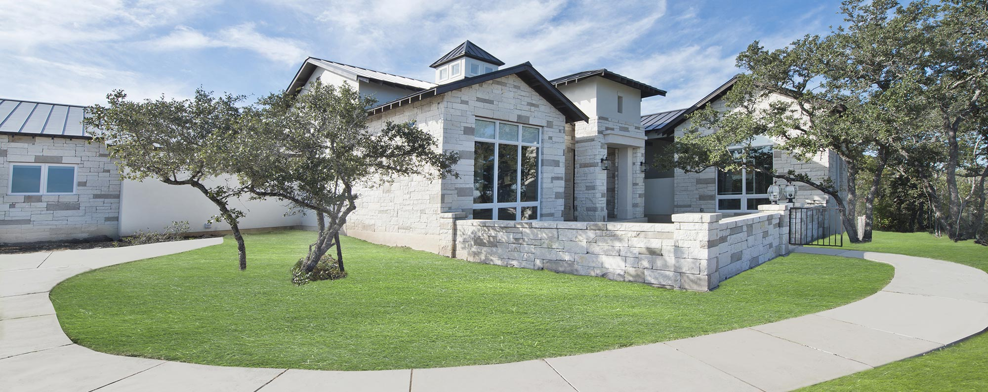modern contemporary home - custom home builder san antonio