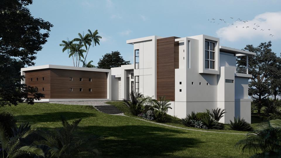 New model home underway custom home builder san antonio for Contemporary model homes