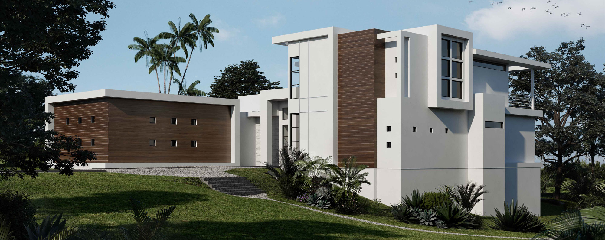 Modern Contemporary Model Home
