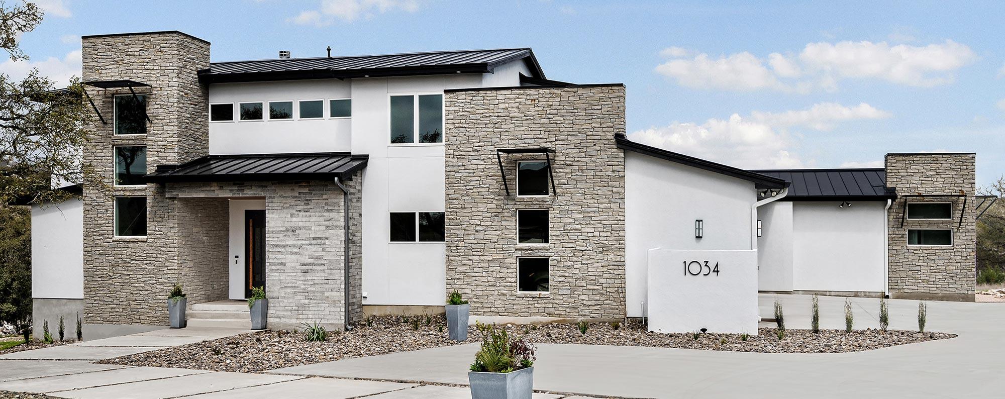 Portfolio robare custom homes custom home builder san for Modern home builders san antonio