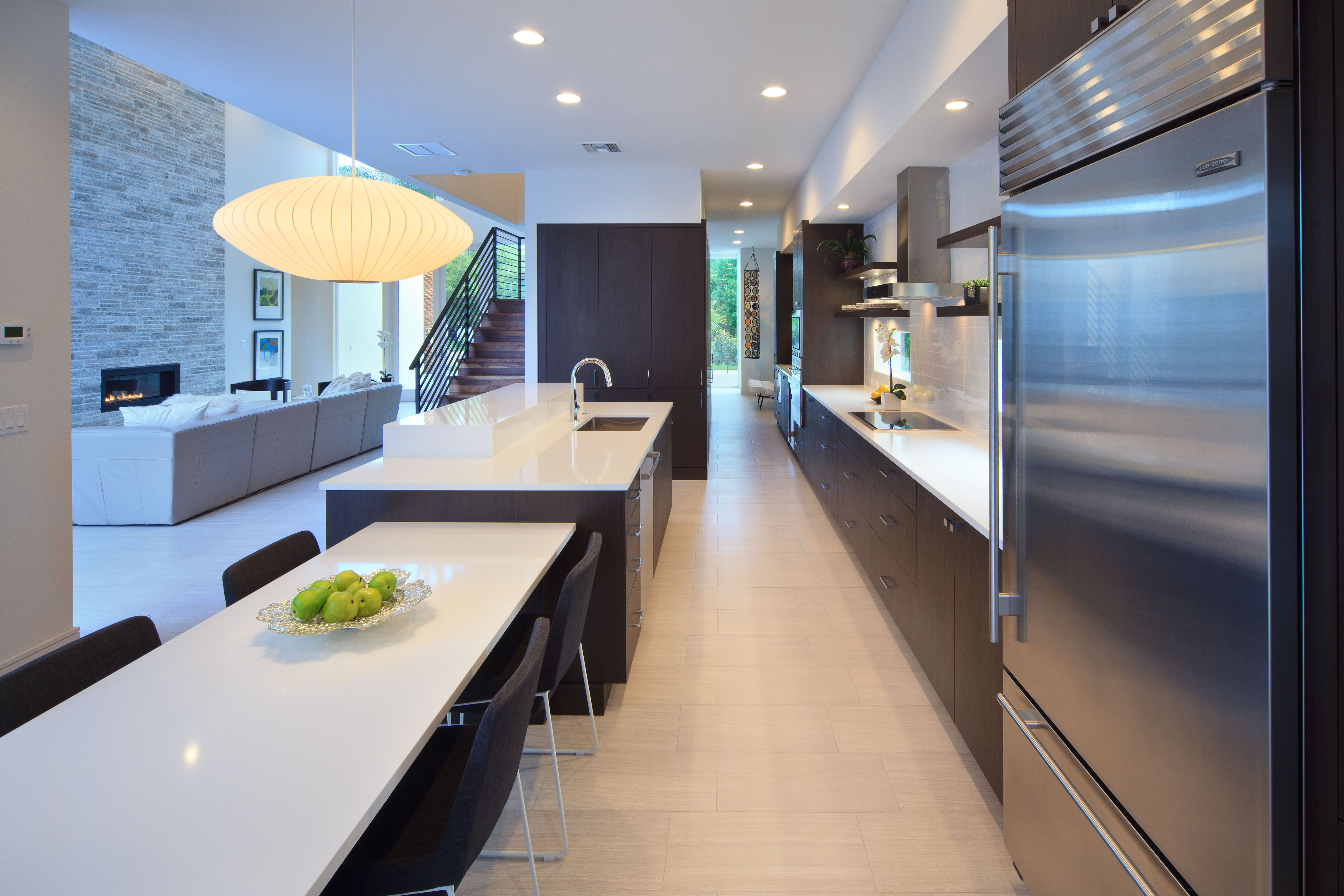 Styles 101 modern contemporary kitchens for Modern home builders san antonio