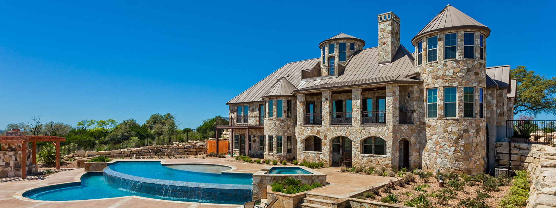 Luxury Home Builder Texas Hill country