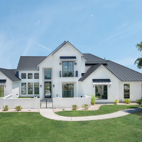 Modern Home Builder Mystic Shores Spring Branch